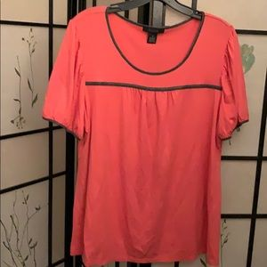 Style N Co. peach top
